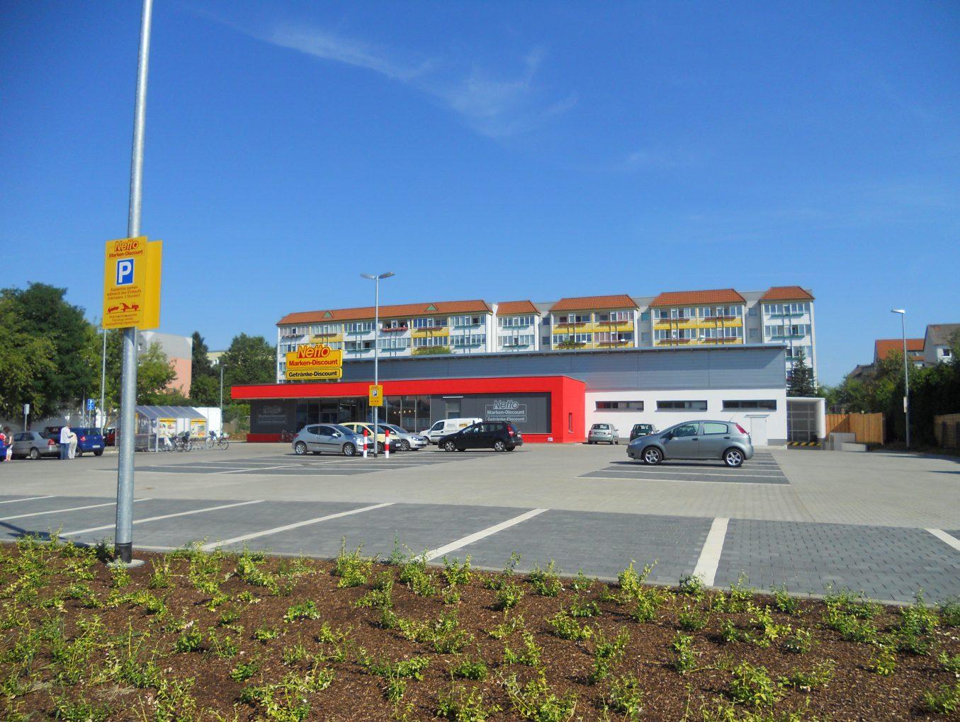 Neubau Netto Markt in Wolmirstedt